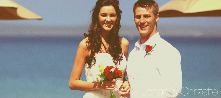 Johan & Chrizette Wedding Photos, Blue Bay Lodge, Saldanha Bay, West Coast